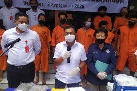 Polda Bali ungkap 55 kasus narkoba selama Operasi Antik