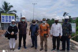 DPRD Banjarmasin pantau pembangunan jembatan pulau Bromo