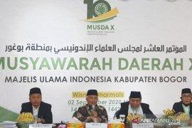 Musda ke-X MUI Bogor tetapkan KH Ahmad Mukri Aji sebagai ketua