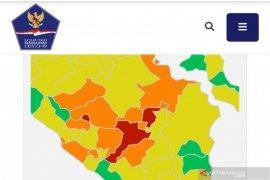 Kota Lubuklinggau dan Muara Enim berstatus zona merah penyebaran COVID-19