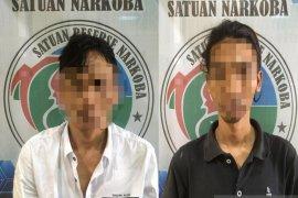 Dua pelaku pengedar sabu dibekuk Satreskrim Polres Pandeglang