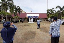 Wakil Bupati Aceh Jaya pimpin Upacara Hardikda ke 61