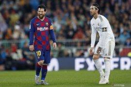 Kapten Real Madrid,  Sergio Ramos ingin Lionel Messi tetap bertahan di Barcelona