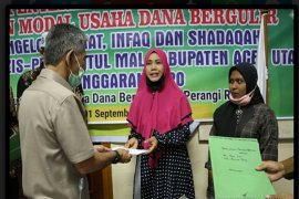 Upzis- Pro Baitul Mal Aceh Utara sediakan Rp 1 miliar bantuan modal usaha