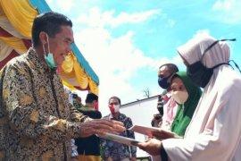 Bupati Akmal : Program PTSL perkecil sengketa tanah di masyarakat
