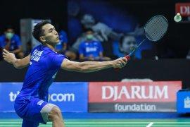 Jonatan Christie terhenti di babak pertama Thailand Open II
