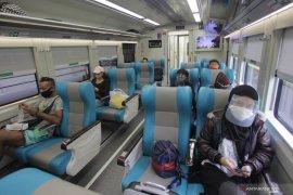 Selama Pandemi, jumlah penumpang kereta api terendah 62 orang sehari