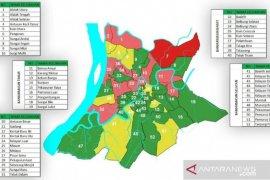 Banjarmasin tersisa enam kelurahan zona merah, Dinkes imbau tetap waspada