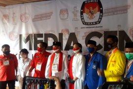 Pilkada Tangsel, pasangan Muhammad -Saraswati daftar ke KPU naik oplet