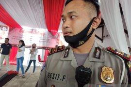 Jelang Pendaftaran Calon Bupati Serang, Polisi Rekayasa Lalulintas Sekitar Kantor KPU