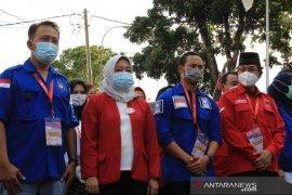 Tiga paslon bupati-wakil bupati daftar ke KPU Kabupaten Bandung