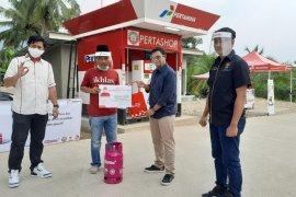 Pertamina apresiasi konsumen perdesaan  di Banten saat peringati hari pelanggan
