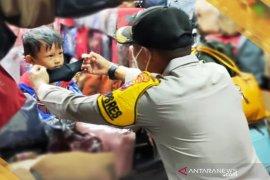 Wakapolres Ajari anak agar disiplin protokol kesehatan