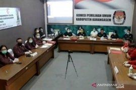 KPU Karangasem terima pendaftaran dua pasangan bakal cabup dan cawabup