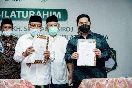 Menteri Erick Thohir-Nahdlatul Ulama berkolaborasi percepat pemulihan ekonomi