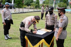 Delapan pejabat Polres Aceh Utara berganti
