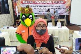 Dua paslon Pilkada Malang mendaftar ke KPU