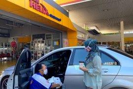Shell beri layanan disinfeksi mobil