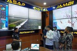 Kepala  badan restorasi gambut Indonesia kunjungi Mapolda Jambi