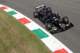 Duet Mercedes, Hamilton dan Bottas belum terkalahkan di FP2 Grand Prix Italia