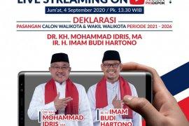 "Deklarasi pasangan Idris-Imam bakal gunakan ""live streaming"" di medsos"