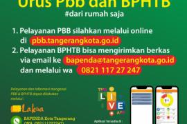 Bapenda Kota  Tangerang  layani bayar pajak online cegah COVID-19