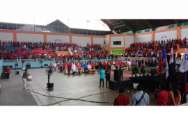 Pendaftaran Pilkada Sintang 2020, Rumpak - Syarifuddin diusung lima partai