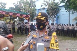 Polres Bangka Tengah lakukan pengamanan sesuai protokol kesehatan