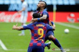 Suarez, Vidal berlatih terpisah jelang kepergian dari Barca