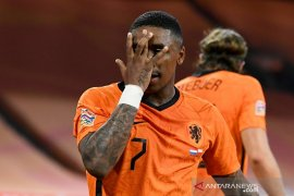 UEFA Nations League  Divisi A Grup 1, Gol Bergwijn antar Belanda atasi Polandia 1-0