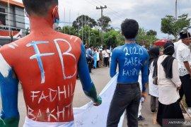 Warna warni pendaftaran Balon Bupati Fadhil-Bakhtiar