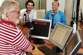 Ini dia, Budaya Jawa dipromosikan  Radio di Paris