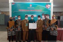 KPU Bangka Barat terima tiga pendaftar calon peserta Pilkada 2020