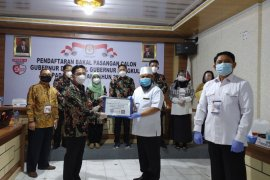 Wali Kota Bengkulu jadi pendaftar pertama Pilgub Bengkulu