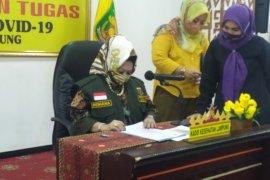 Seorang bakal calon wakil bupati Lampung Selatan positif COVID
