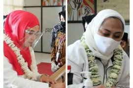 KPU Karawang sudah terima pendaftaran dua bakal paslon Pilkada 2020