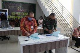 Danrem dan Kepala Perwakilan BKKBN Jambi teken perjanjian kerja sama