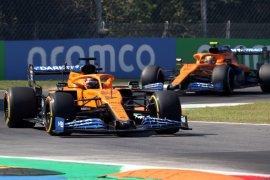 Duet McLaren, Carlos Sainz dan Lando Norris tempel ketat Bottas di FP3 GP Italia