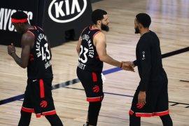 Toronto  Raptors kalahkan Boston  Celtics 100-93 untuk samakan skor 2-2