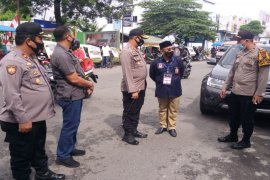 Kapolres Binjai pimpin langsung pengamanan pendaftaran balon pilkada di KPU