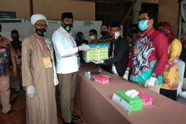 Haji Rusli-Guru Fadlan serahkan berkas ke KPU Banjar