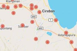 Hampir semua kecamatan di Cirebon terdapat kasus COVID-19