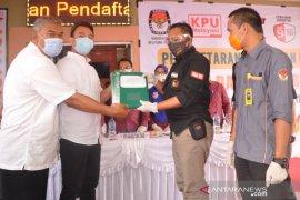 Dua paslon mendaftar di KPU Belitung Timur