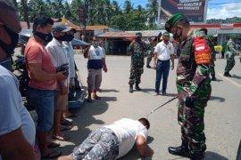 TNI-Polri terus lakukan penegakkan disiplin protokol kesehatan di Gorontalo