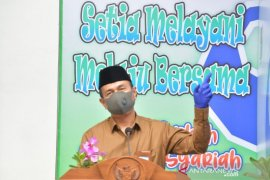 Agus Syabaruddin : Bank Kalsel Syariah Kandangan dukung Visi CINTA Pemkab HSS