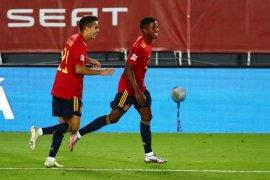 Striker Ansu Fati pencetak gol termuda sepanjang masa timnas Spanyol