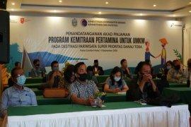 Pertamina kucurkan  pinjaman Rp5,4 miliar untuk UMKM di Danau Toba