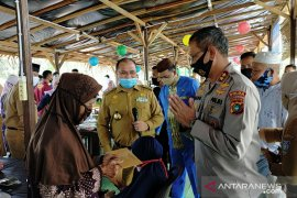 Polda Babel salurkan santunan kepada veteran di Bangka Barat