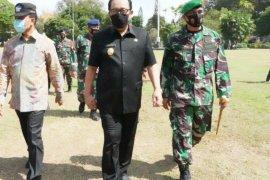 Korem 163/Wira Satya terapkan denda untuk internal yang tak bermasker