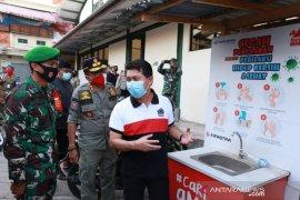 Bupati Klungkung sidak pemakaian masker di pasar